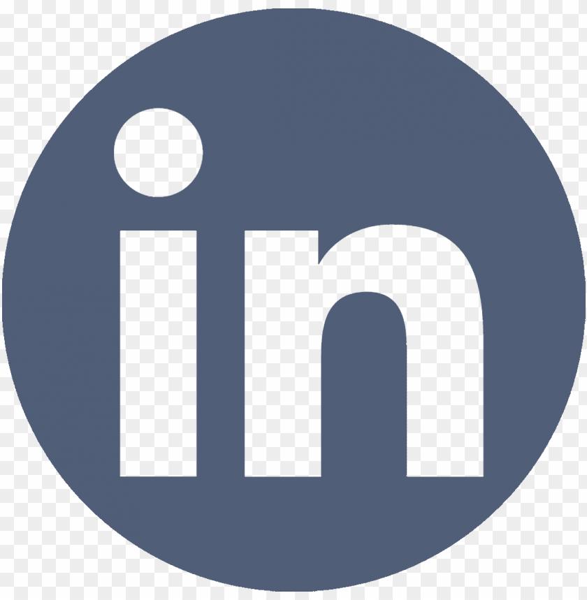 Linkedin Logo Vector Icons Linkedin Icon Vector Circle Png