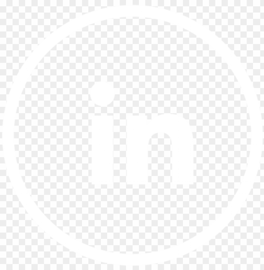 Linkedin White Icon Social Media Icon Png And Vector 1a