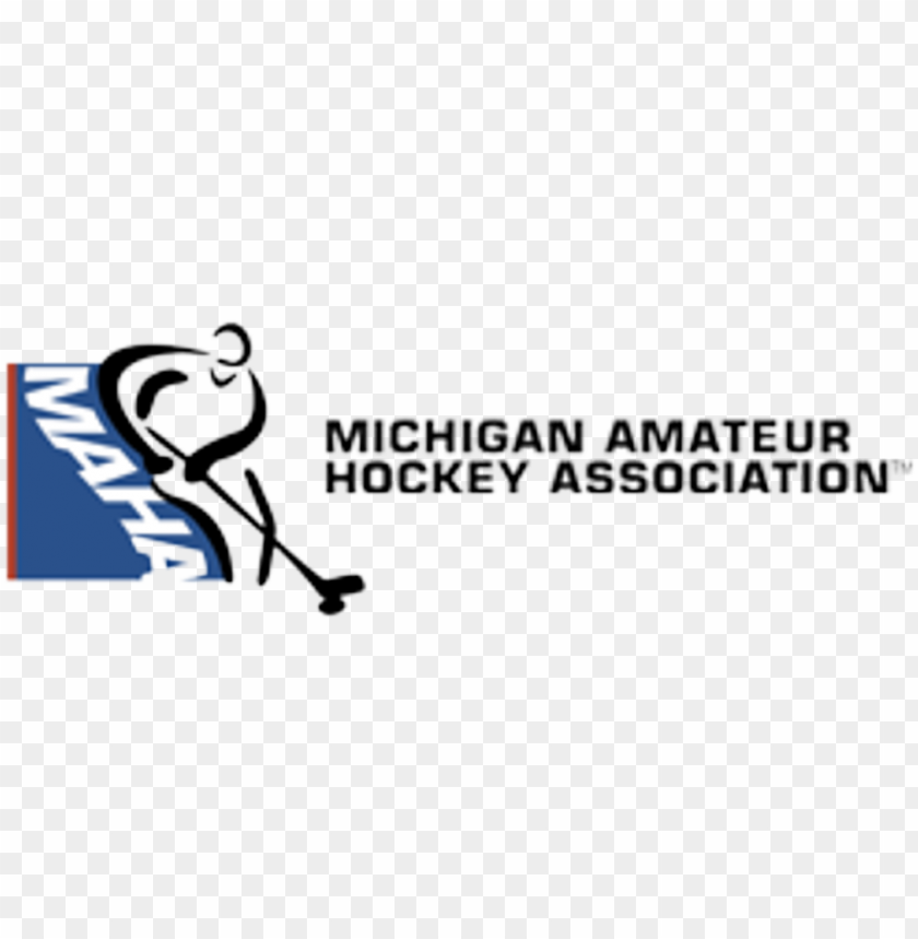 free PNG links for hockey organizations - michigan amateur hockey association logo PNG image with transparent background PNG images transparent