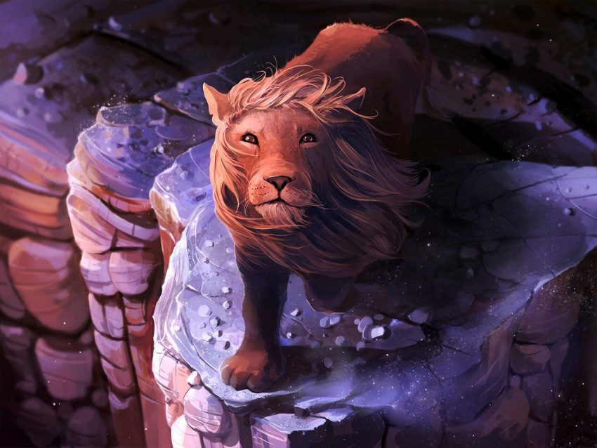 free PNG lion, art, mane, king of beasts background PNG images transparent