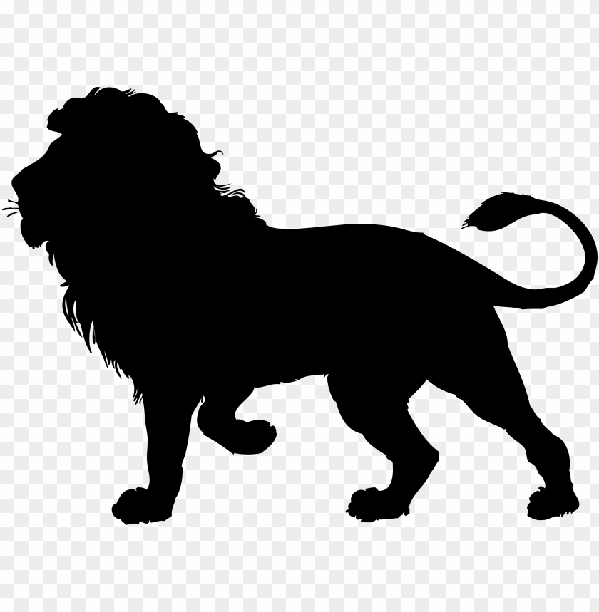 Lion Silhouette Clipart Lion Black Outline Png Image With Transparent Background Toppng All lion clip art are png format and transparent background. lion silhouette clipart lion black
