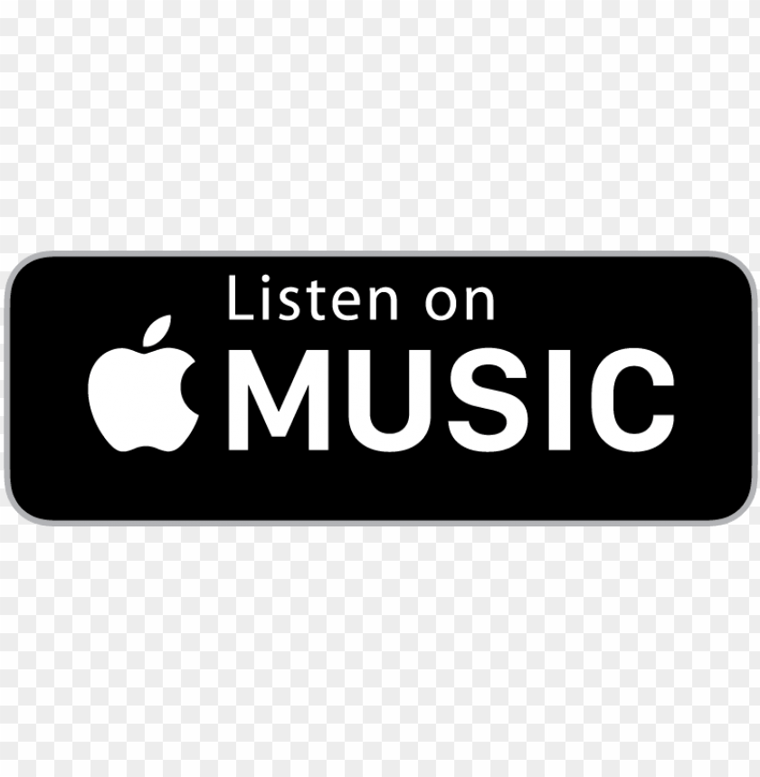Listen On Apple Music Logo Png Image With Transparent Background Toppng Are you searching for apple music png images or vector? listen on apple music logo png image