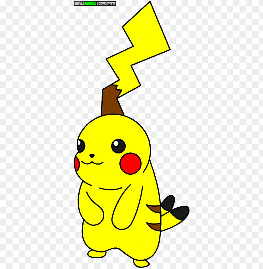 free PNG litched pikachu ibis paint x to ms paint by lightdragonswordsman - ibis paint x drawings PNG image with transparent background PNG images transparent