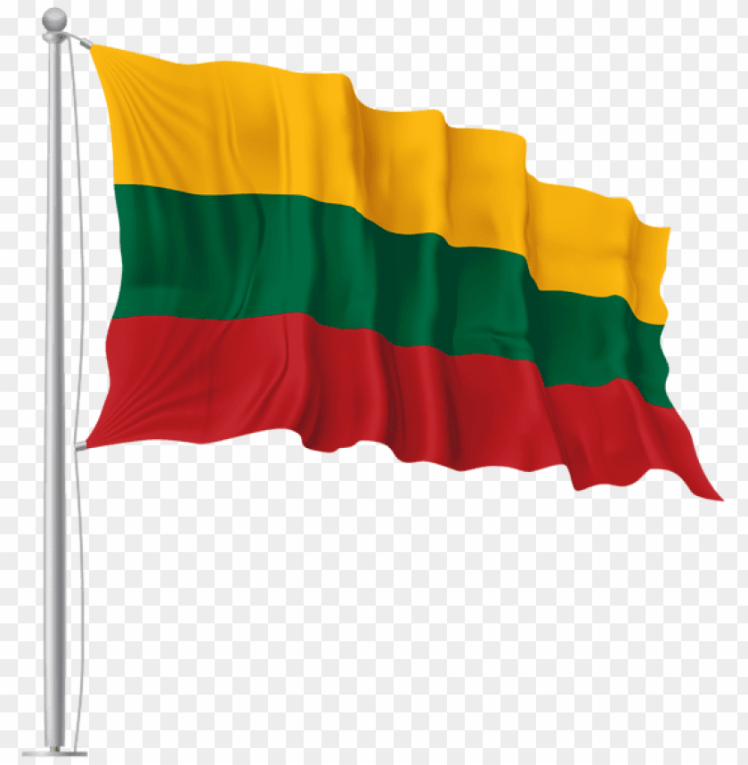 free PNG Download lithuania waving flag clipart png photo   PNG images transparent