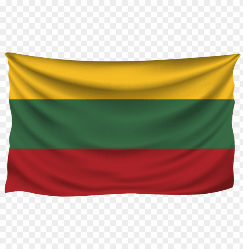 free PNG Download lithuania wrinkled flag clipart png photo   PNG images transparent