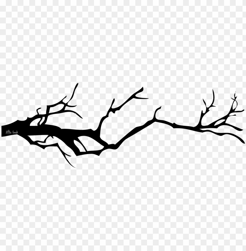 free PNG littlebeekdesigns creepy branch - creepy tree branches silhouette PNG image with transparent background PNG images transparent