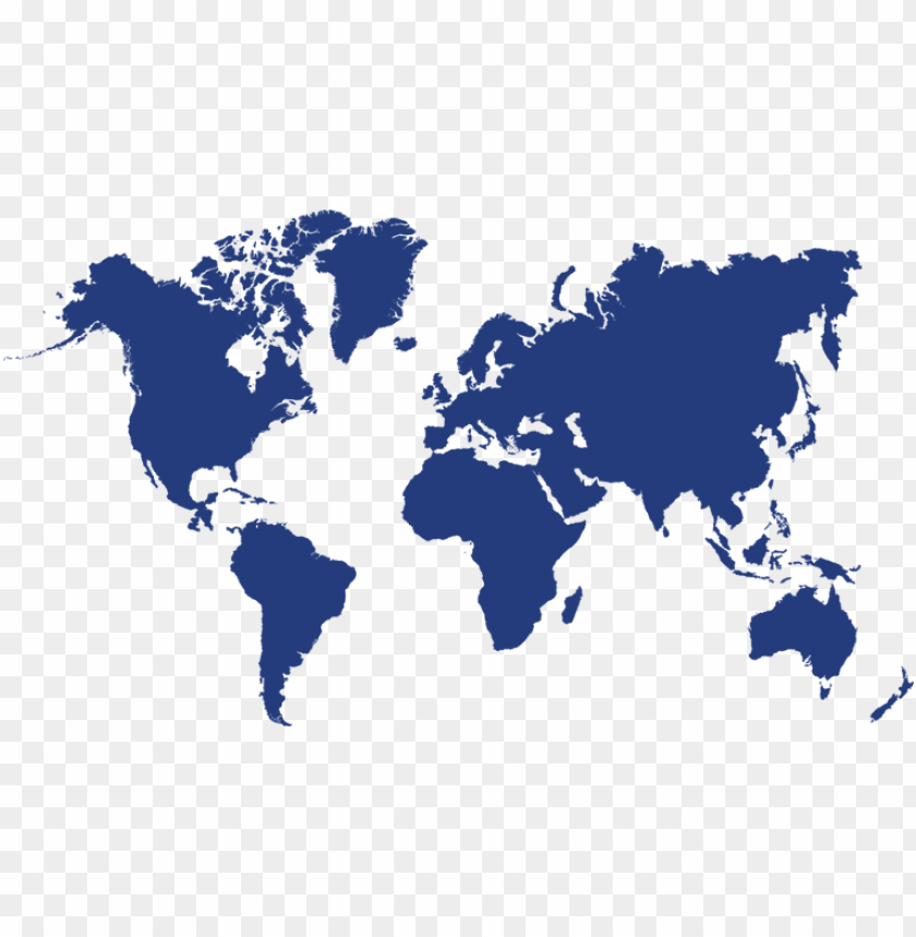 free PNG lobal overview - world map stencil PNG image with transparent background PNG images transparent