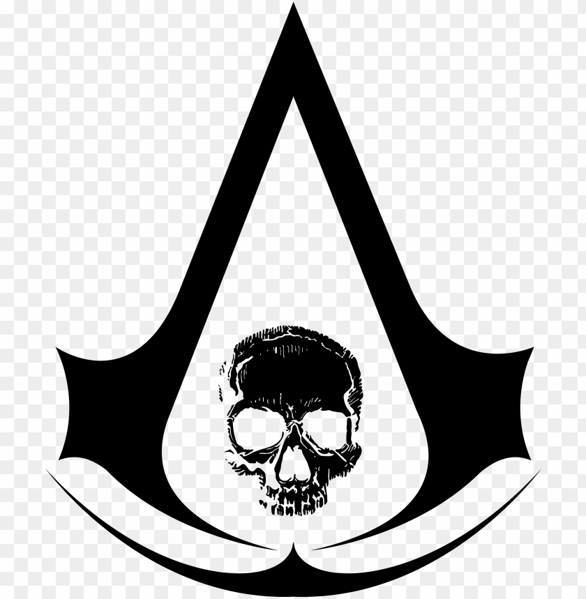 Logo Ac4 Black Flag Assassin S Creed 4 Logo Png Image With