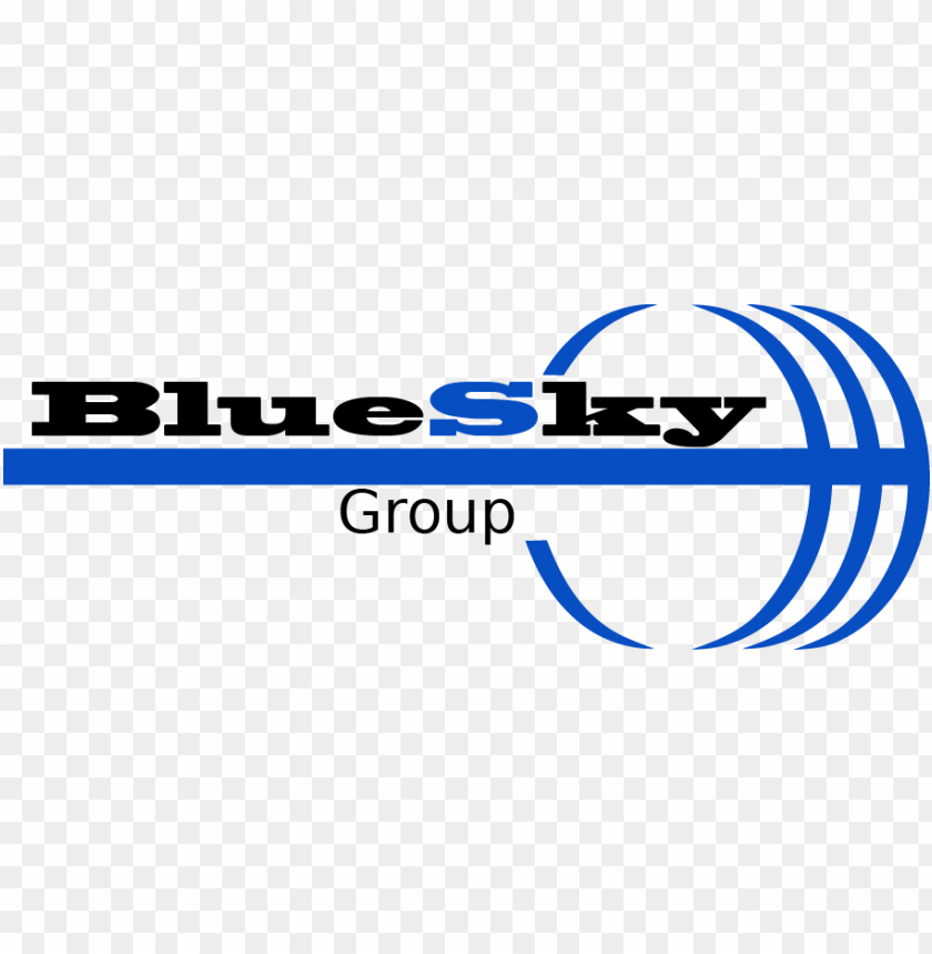 free PNG logo - blue sky management group inc. PNG image with transparent background PNG images transparent
