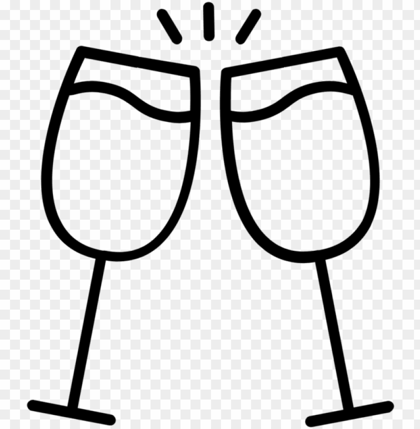 free PNG logo - champagne glasses ico PNG image with transparent background PNG images transparent