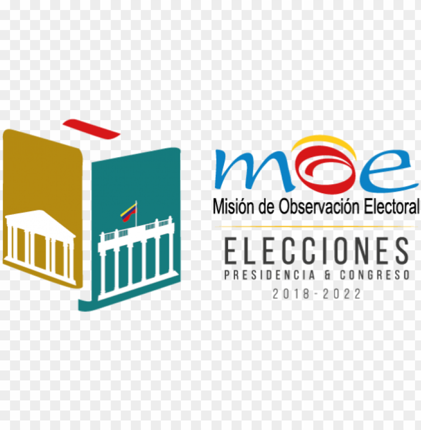 logo elecciones 2018 moe 01 - mision de observacion electoral PNG image with transparent background@toppng.com