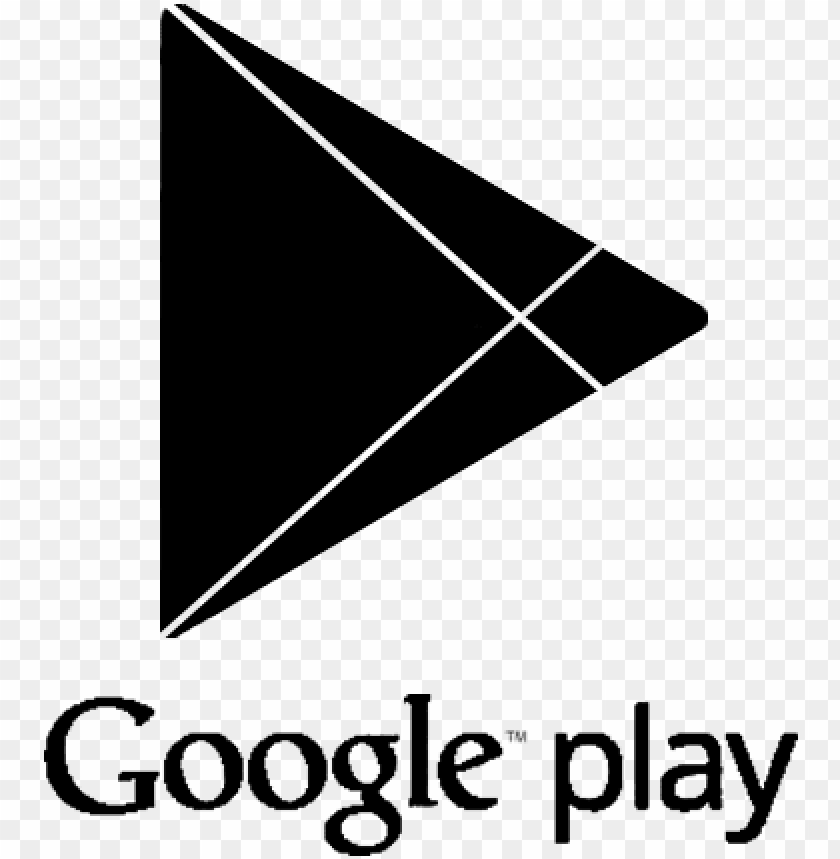 logo google play png - google play music logo black PNG image with transparent background@toppng.com