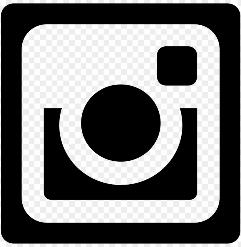 Logo Instagram Blanco Vector Png Image With Transparent Background Toppng