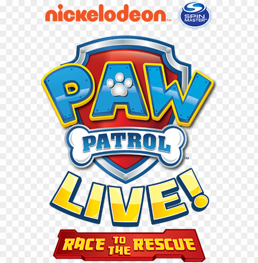 free PNG logo paw patrol png - paw patrol live logo PNG image with transparent background PNG images transparent