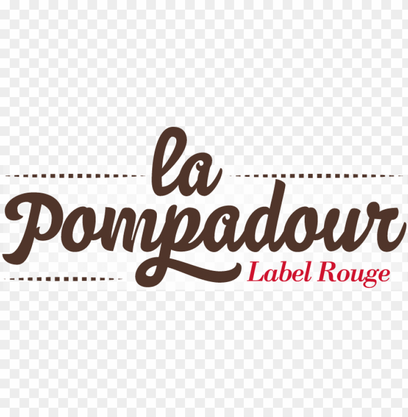 logo pompadour label rouge PNG image with transparent background@toppng.com