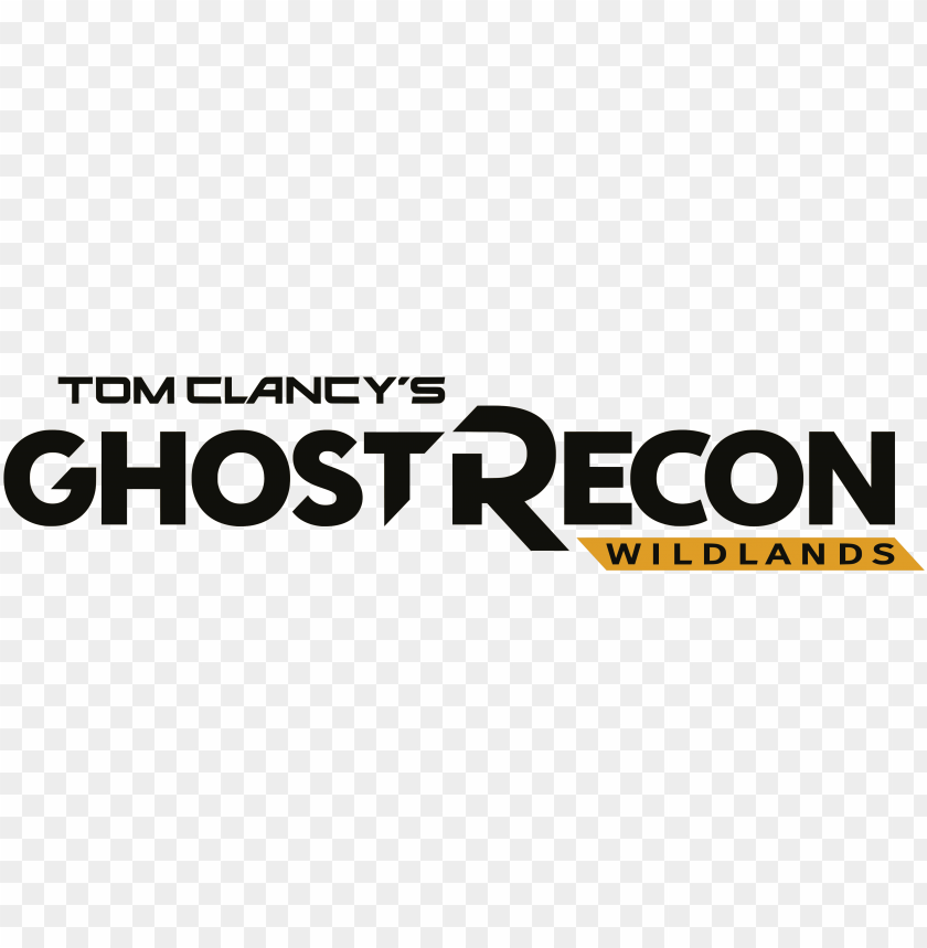 free PNG logo tom clancy's ghost recon wildlands - tom clancy's ghost recon logo PNG image with transparent background PNG images transparent