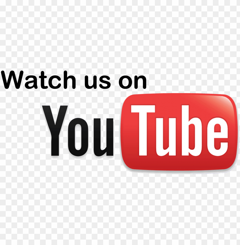 free PNG logo youtube - follow our youtube channel PNG image with transparent background PNG images transparent