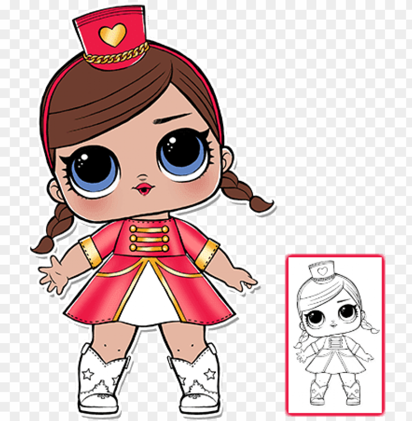 free PNG lol surprise doll coloring pages - lol surprise serie 1 PNG image with transparent background PNG images transparent