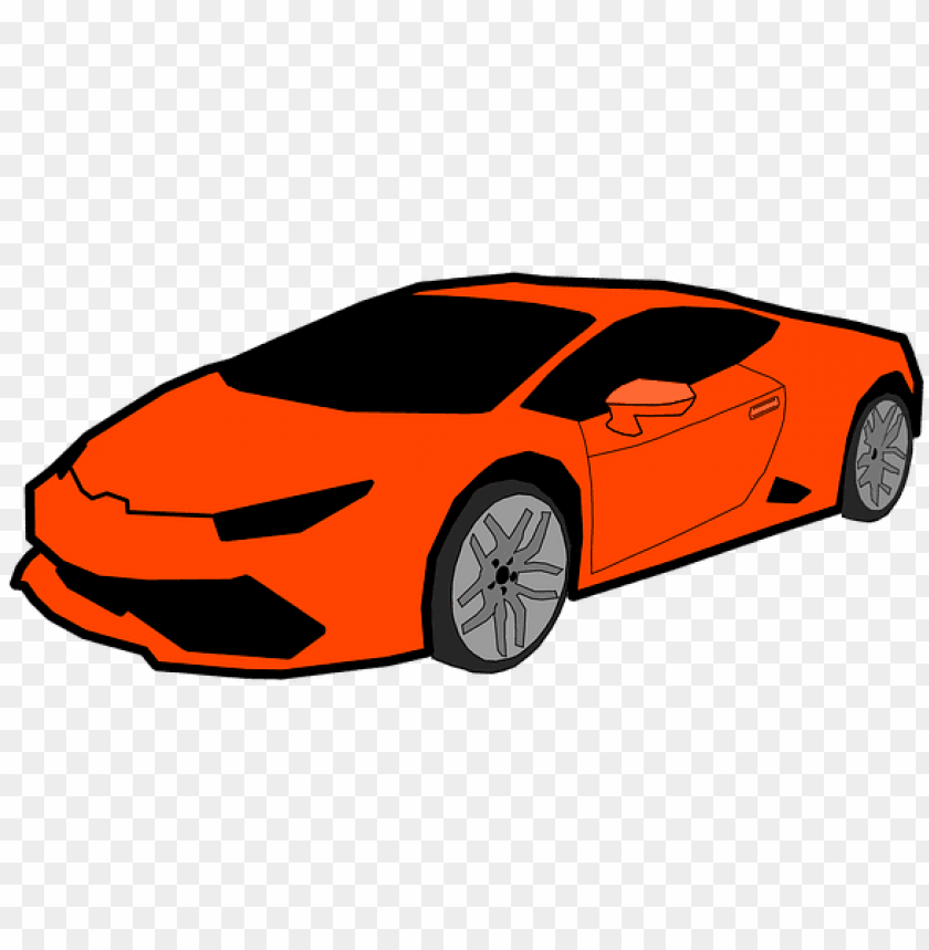 Lomborghini Car Cool Car Gambar Animasi Mobil Kere Png Image With Transparent Background Toppng