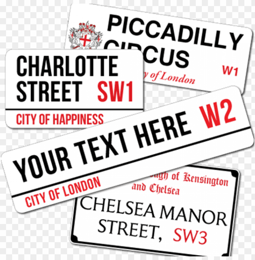 free PNG london street signs - london street sign template PNG image with transparent background PNG images transparent