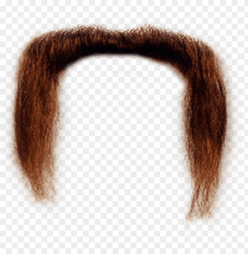 free PNG long ginger moustache - mustache transparent PNG image with transparent background PNG images transparent