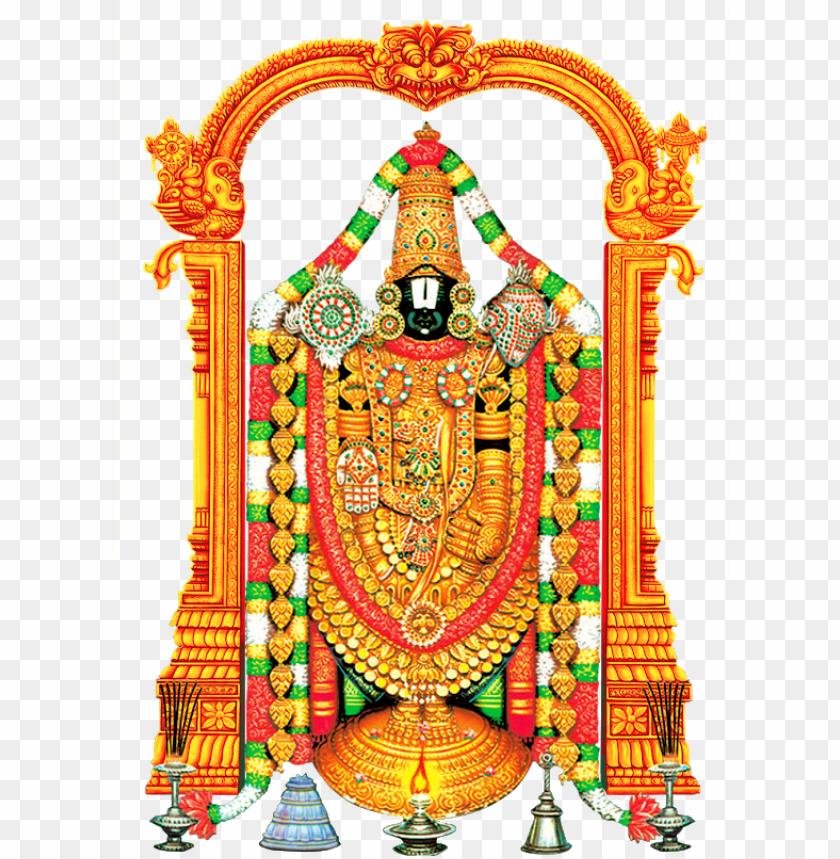 free PNG lord tirupati venkateswara and lord vishnu transparent - lord venkateswara PNG image with transparent background PNG images transparent