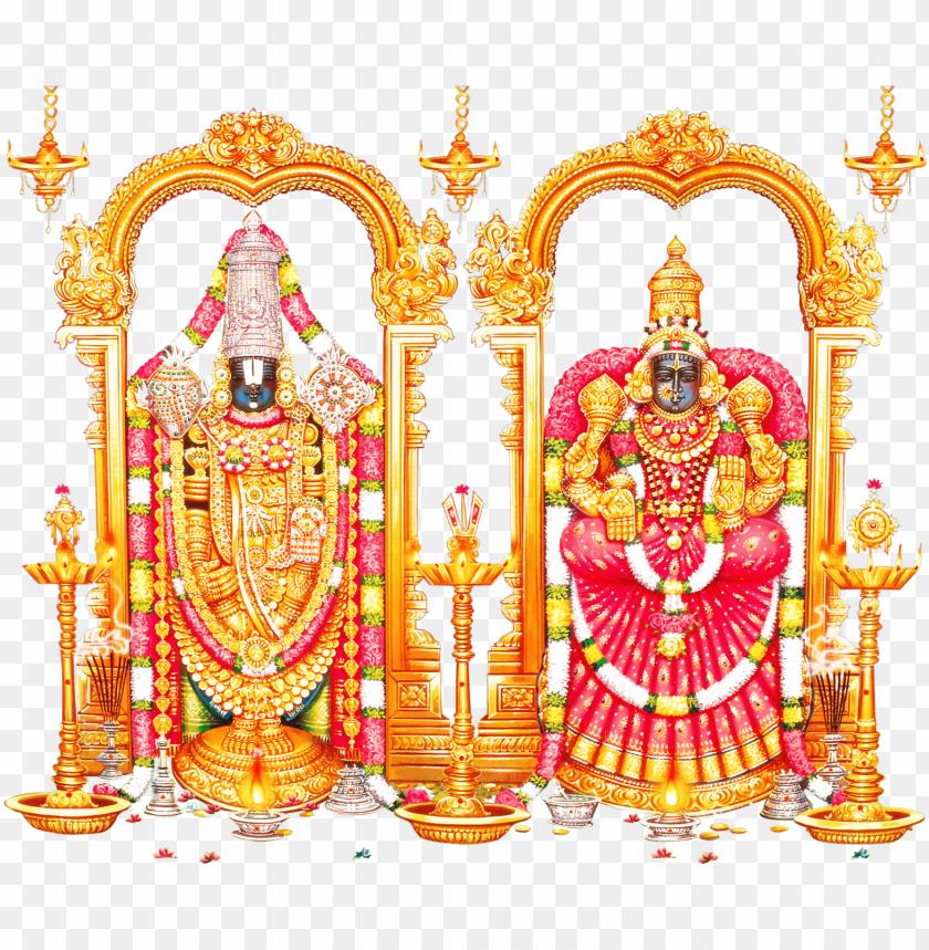 free PNG lord tirupati venkateswara and lord vishnu transparent - perumal PNG image with transparent background PNG images transparent