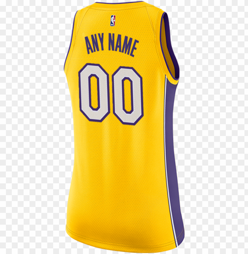 Los Angeles Lakers Women S Custom 2017 18 Icon Swingman Laker Jersey 23 Png Image With Transparent Background Toppng