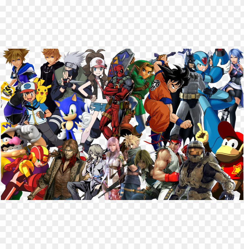 free PNG lots of game characters PNG image with transparent background PNG images transparent