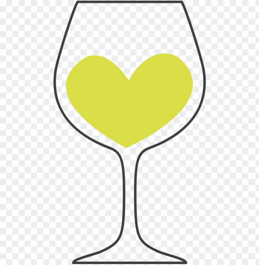 free PNG love of white wine clip free - white wine glass clipart PNG image with transparent background PNG images transparent