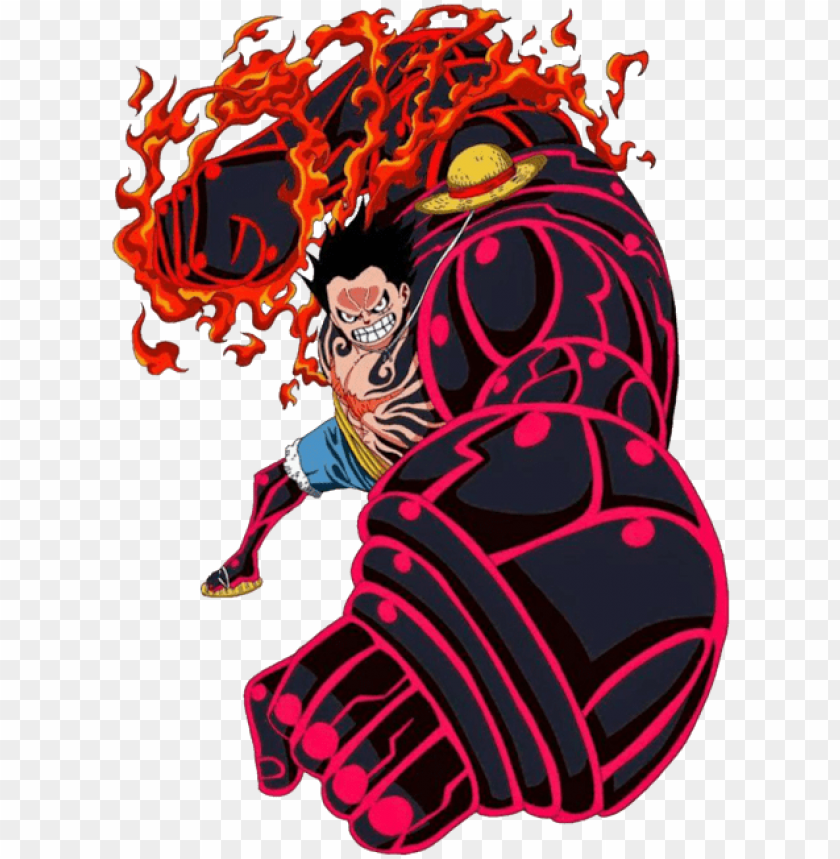 free PNG luffy gear 4 png - one piece luffy gear 4 PNG image with transparent background PNG images transparent