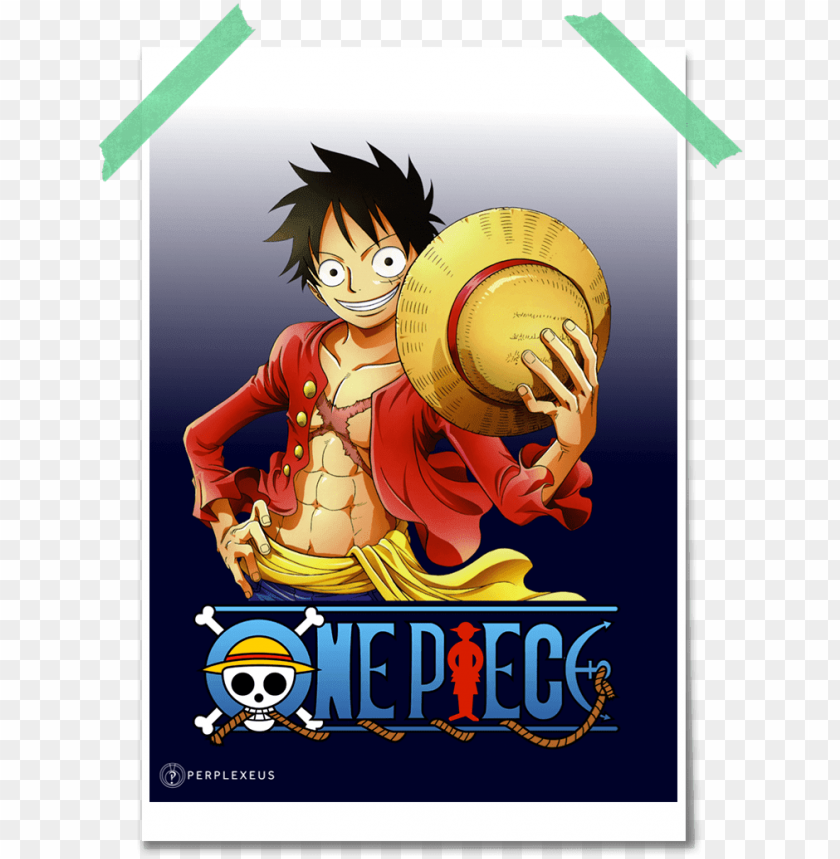 luffy poster - one piece PNG image with transparent background@toppng.com