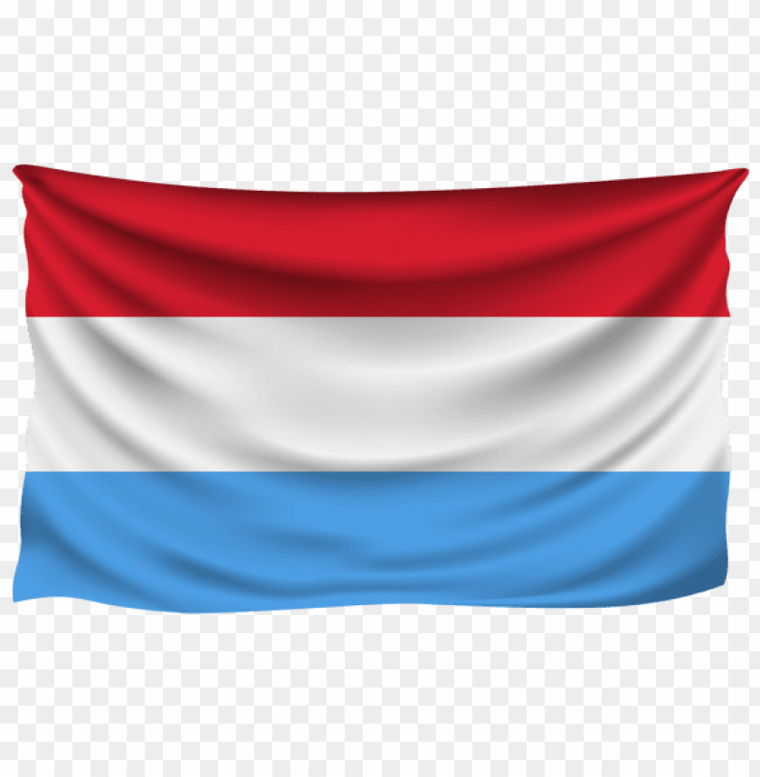 free PNG Download luxembourg wrinkled flag clipart png photo   PNG images transparent