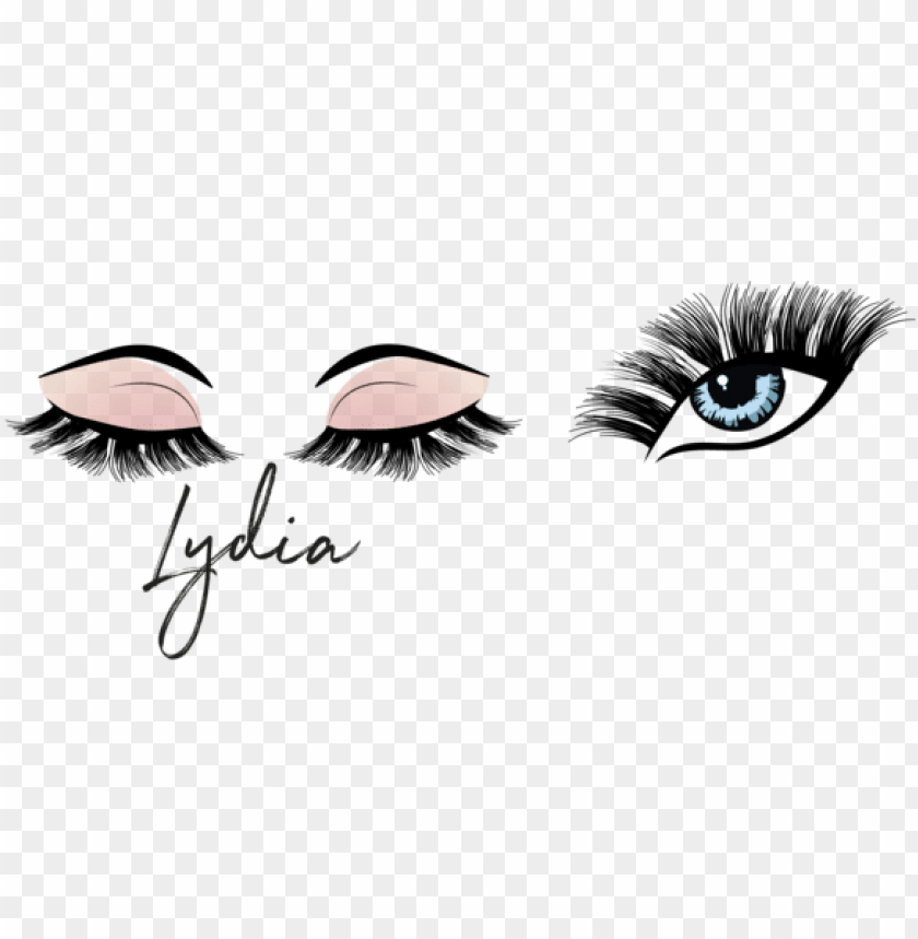 free PNG lydia lash illustrations closed eyes with open eye PNG image with transparent background PNG images transparent