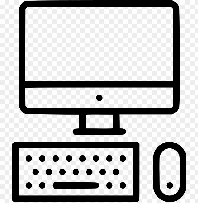 free PNG mac computer device display desktop screen keyboard - computer monitor PNG image with transparent background PNG images transparent
