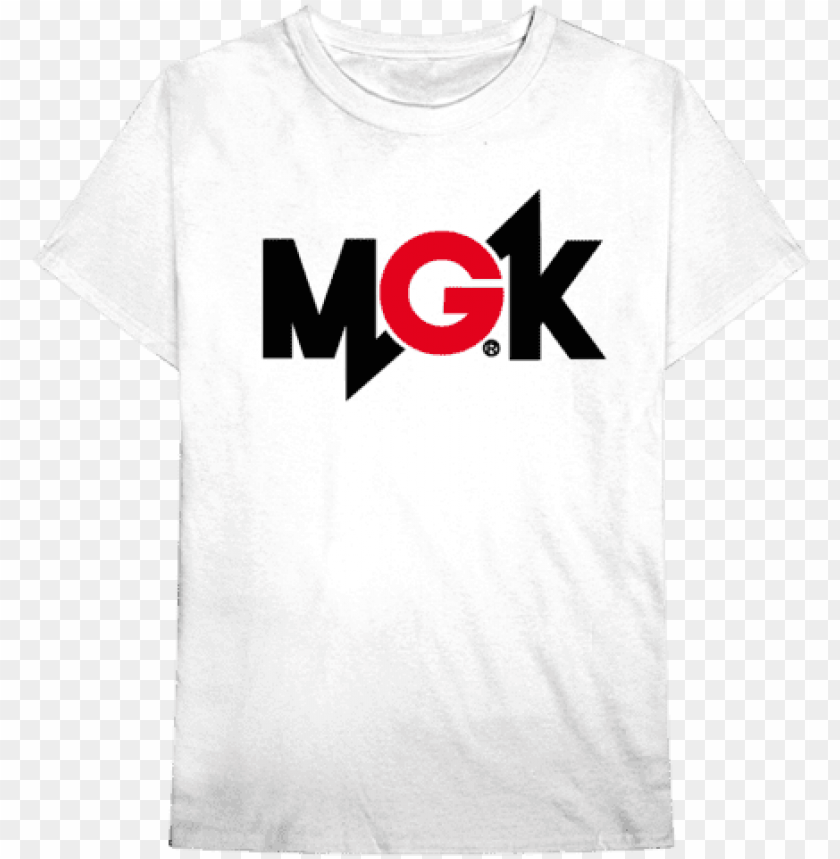free PNG machine gun kelly - t-shirt: machine gun kelly - mgk logo, 3x3in. PNG image with transparent background PNG images transparent