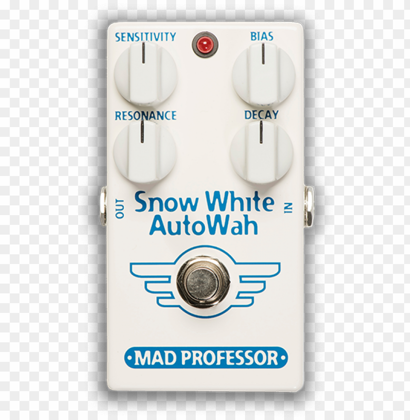 free PNG mad professor snow white autowah - mad professor snow white auto wah effects pedal PNG image with transparent background PNG images transparent