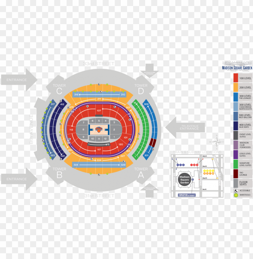 free PNG madison square garden seating chart PNG image with transparent background PNG images transparent