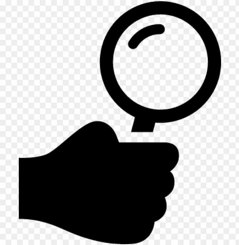 free PNG magnifying glass vector png download - hand holding magnifying glass ico PNG image with transparent background PNG images transparent