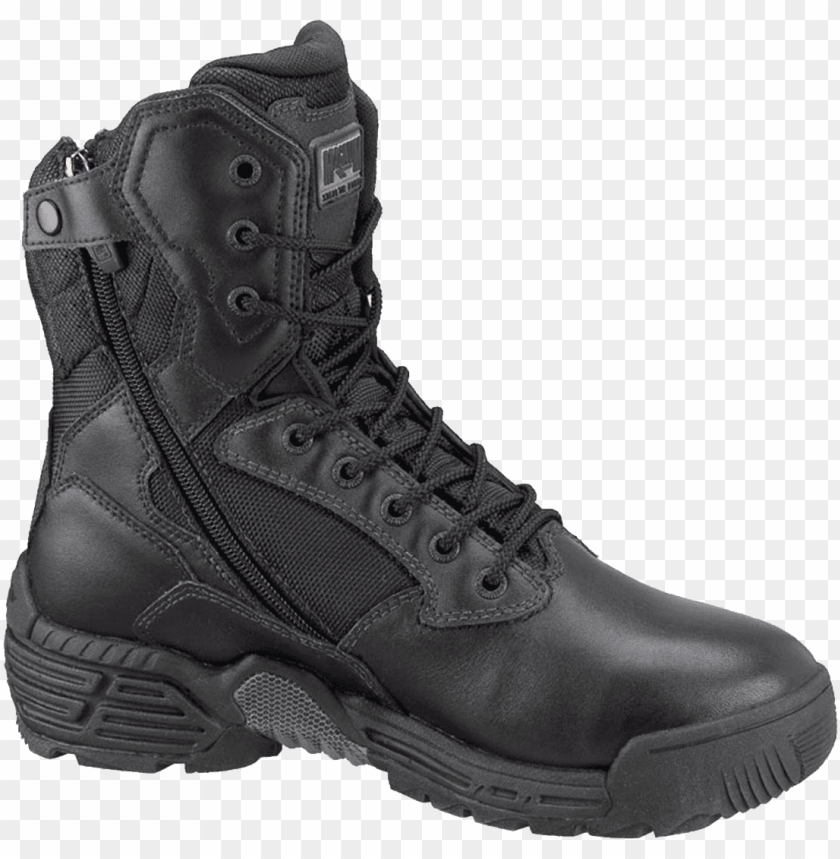 free PNG magnum men's stealth force work boots png - Free PNG Images PNG images transparent