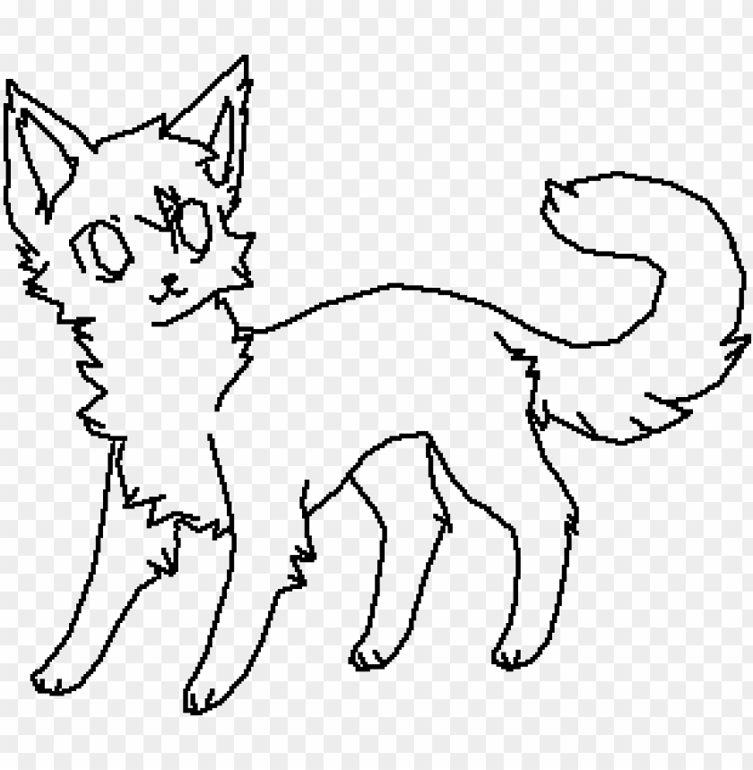 free PNG main image cat base by curiousartist - warrior cat base PNG image with transparent background PNG images transparent