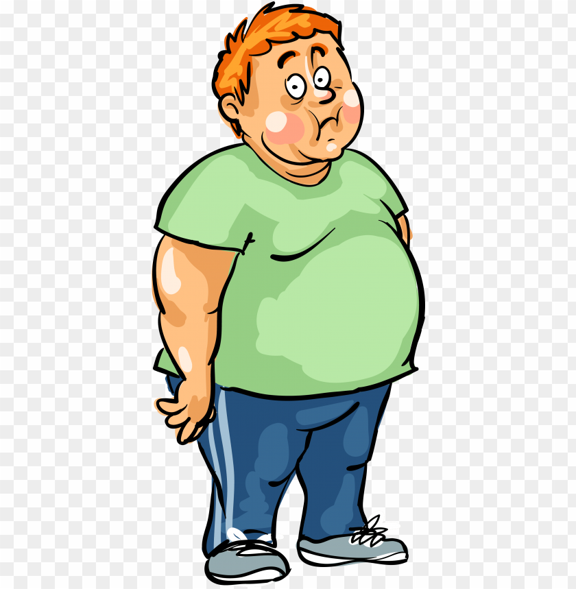 free PNG man male fat - fat man cartoon PNG image with transparent background PNG images transparent