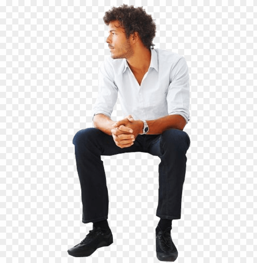 free PNG man sitting people top view, cut out people, people - man sitting reference PNG image with transparent background PNG images transparent