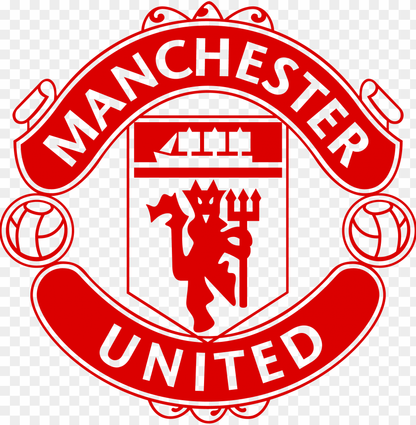 Manchester Fc United Logo Manchester United Red Logo Png Image With Transparent Background Toppng