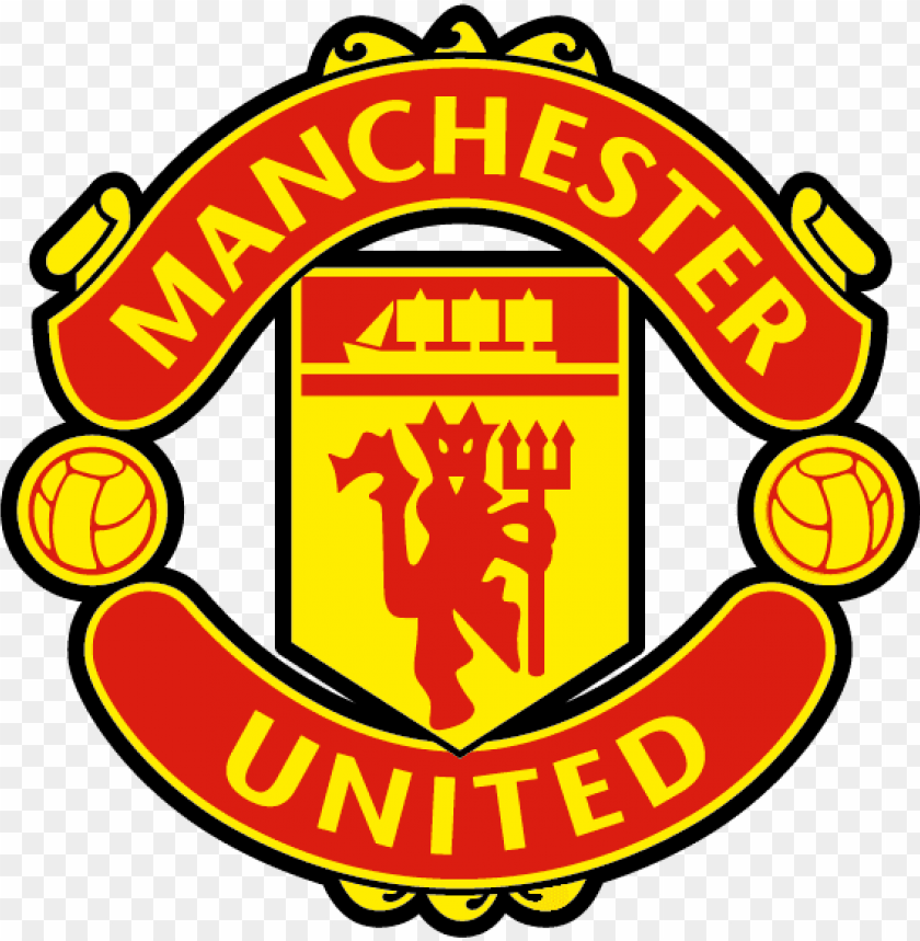 Manchester United Logo Coloring Pictures To Pin On Logo Foot Manchester United Png Image With Transparent Background Toppng