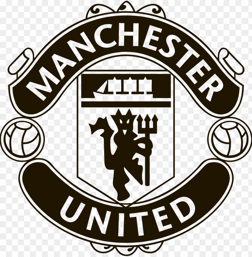 free PNG manchester united logo png transparent picture - manchester united black logo PNG image with transparent background PNG images transparent