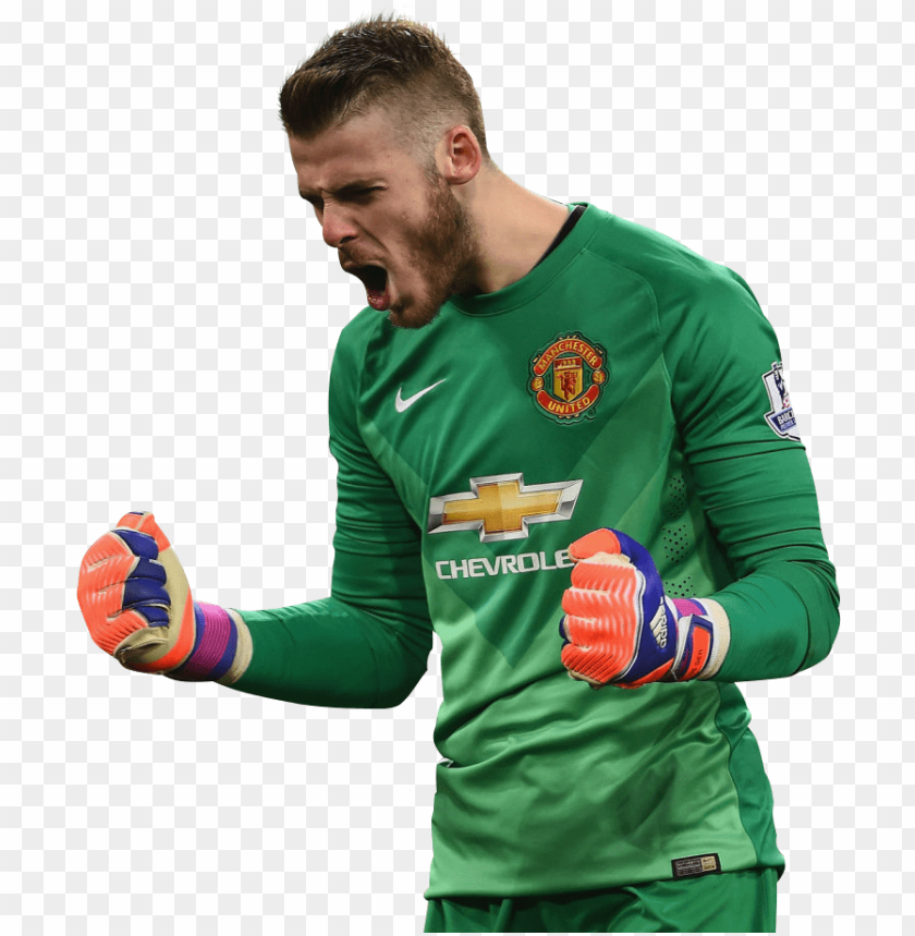 free PNG manchester united png image background - david de gea 2014 15 PNG image with transparent background PNG images transparent