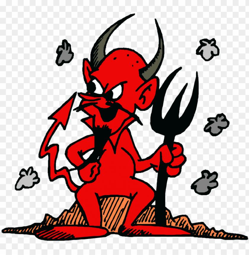 free PNG manchester united red devil - devil clipart PNG image with transparent background PNG images transparent