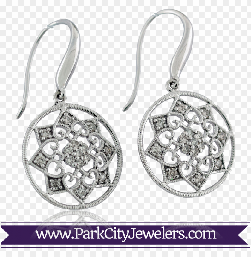 free PNG mandala diamond snowflake earrings - snowflake earrings PNG image with transparent background PNG images transparent