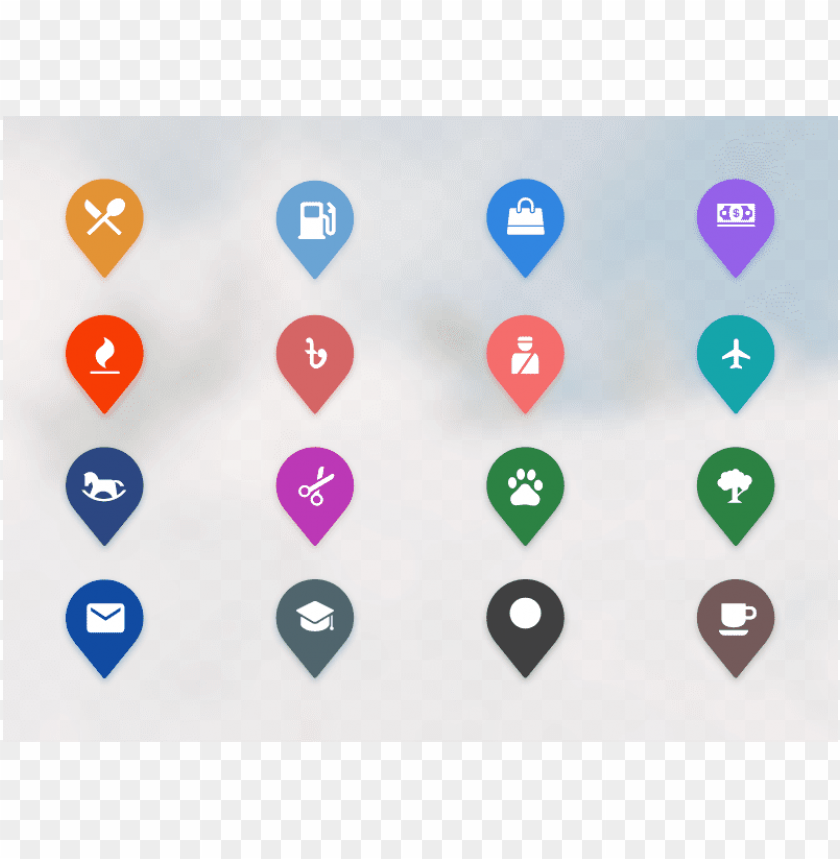 free PNG map icons clean pin location map ui icons - map icons PNG image with transparent background PNG images transparent